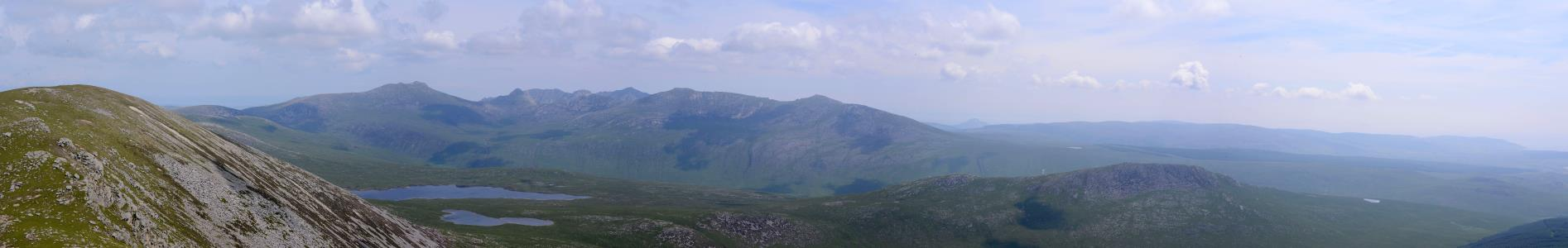 Name: View East from , Beinn Bharrain, Arran Camera make:  Model:  Software: Microsoft ICE v1.4.4.0