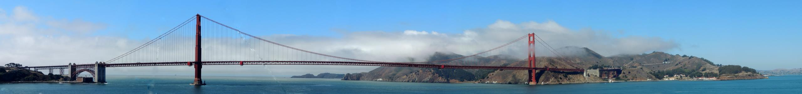 Name: Golden Gate panorama 2014 Camera make:  Model:  Software: ArcSoft Panorama Maker 6